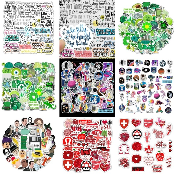 Over 1,000 Cute & Funny Stickers 🌸